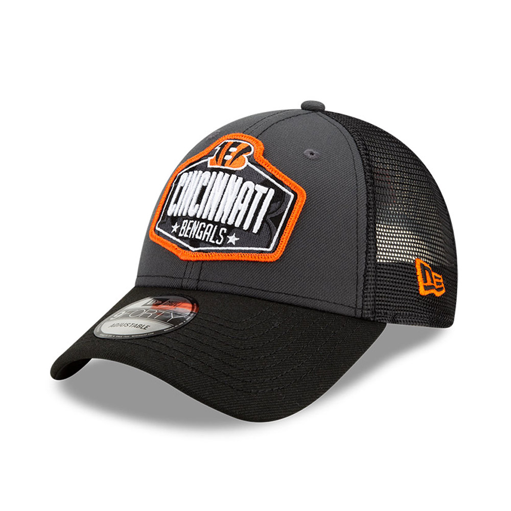 Cincinatti Bengals NFL Draft Grey 9FORTY Cap