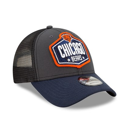Chicago Bears NFL Draft Grey 9FORTY Cap