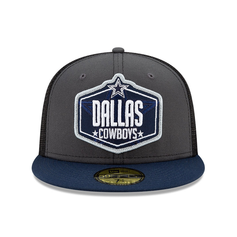 59FIFTY – Dallas Cowboys – NFL Draft – Kappe in Grau