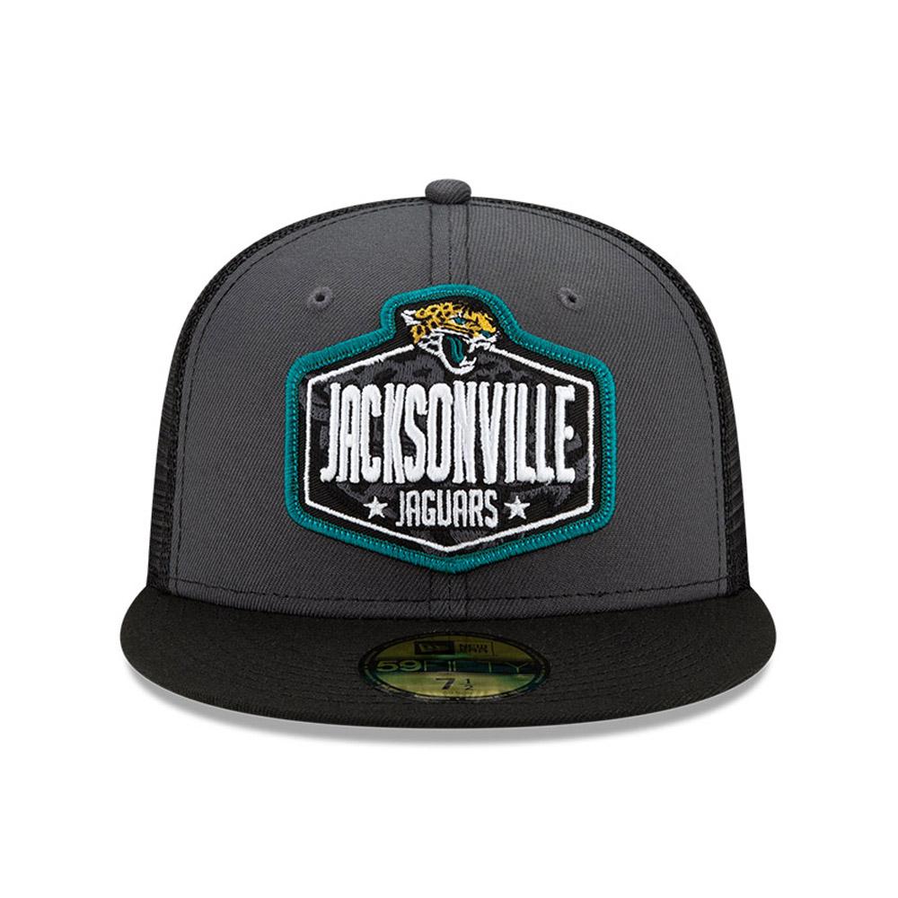 Casquette59FIFTYNFLDraft des Jacksonville Jaguars, gris