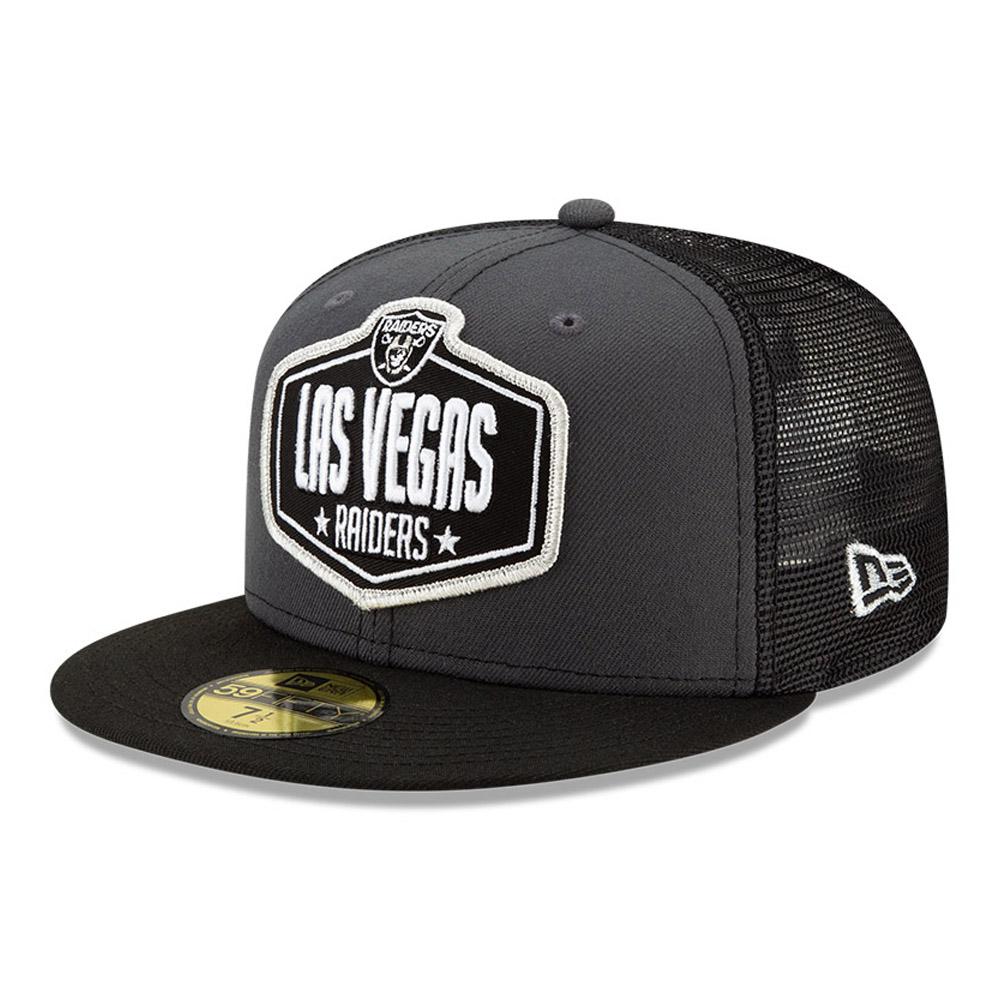 Casquette59FIFTY NFLDraft des Las Vegas Raiders, gris