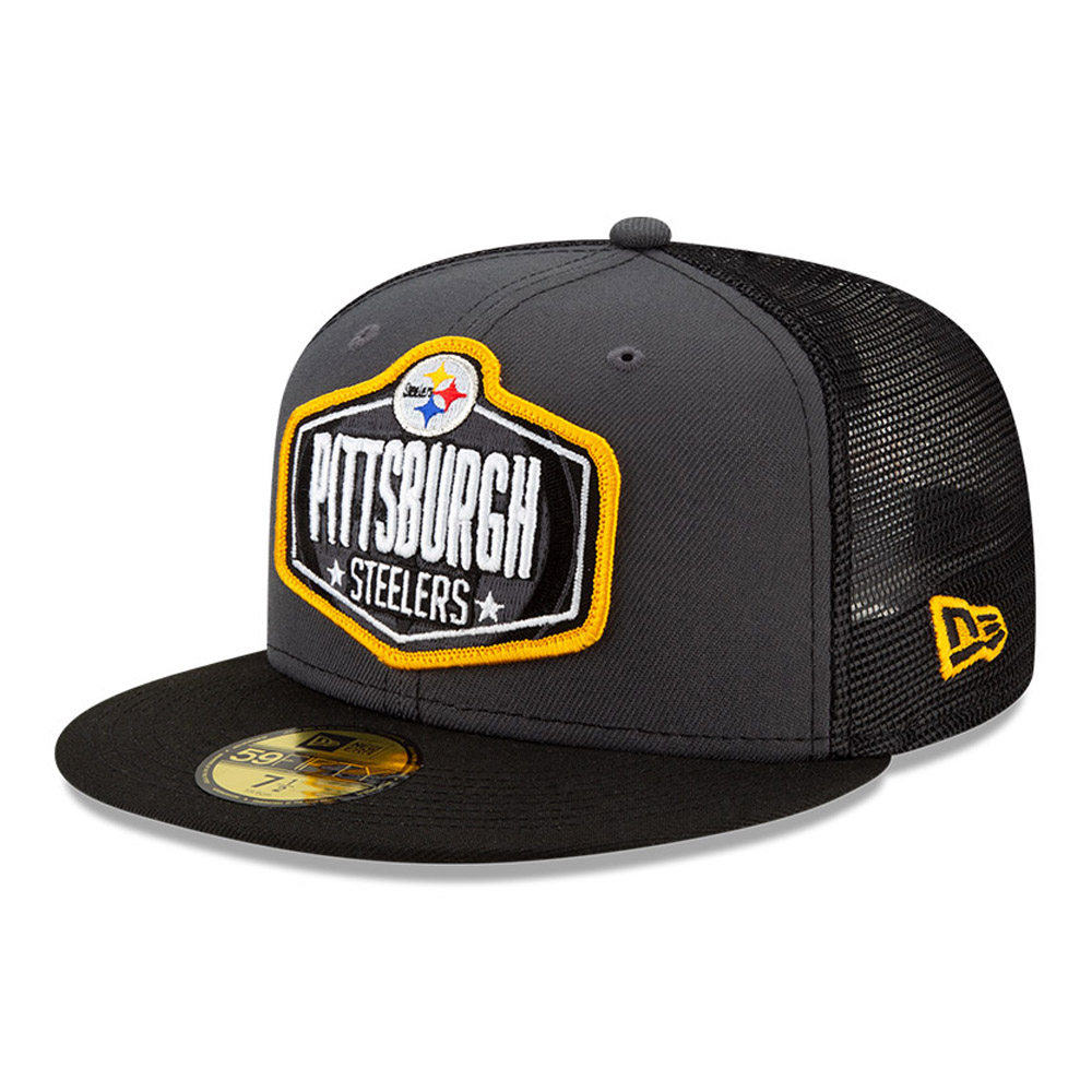 Casquette59FIFTY NFLDraft des Pittsburgh Steelers, gris