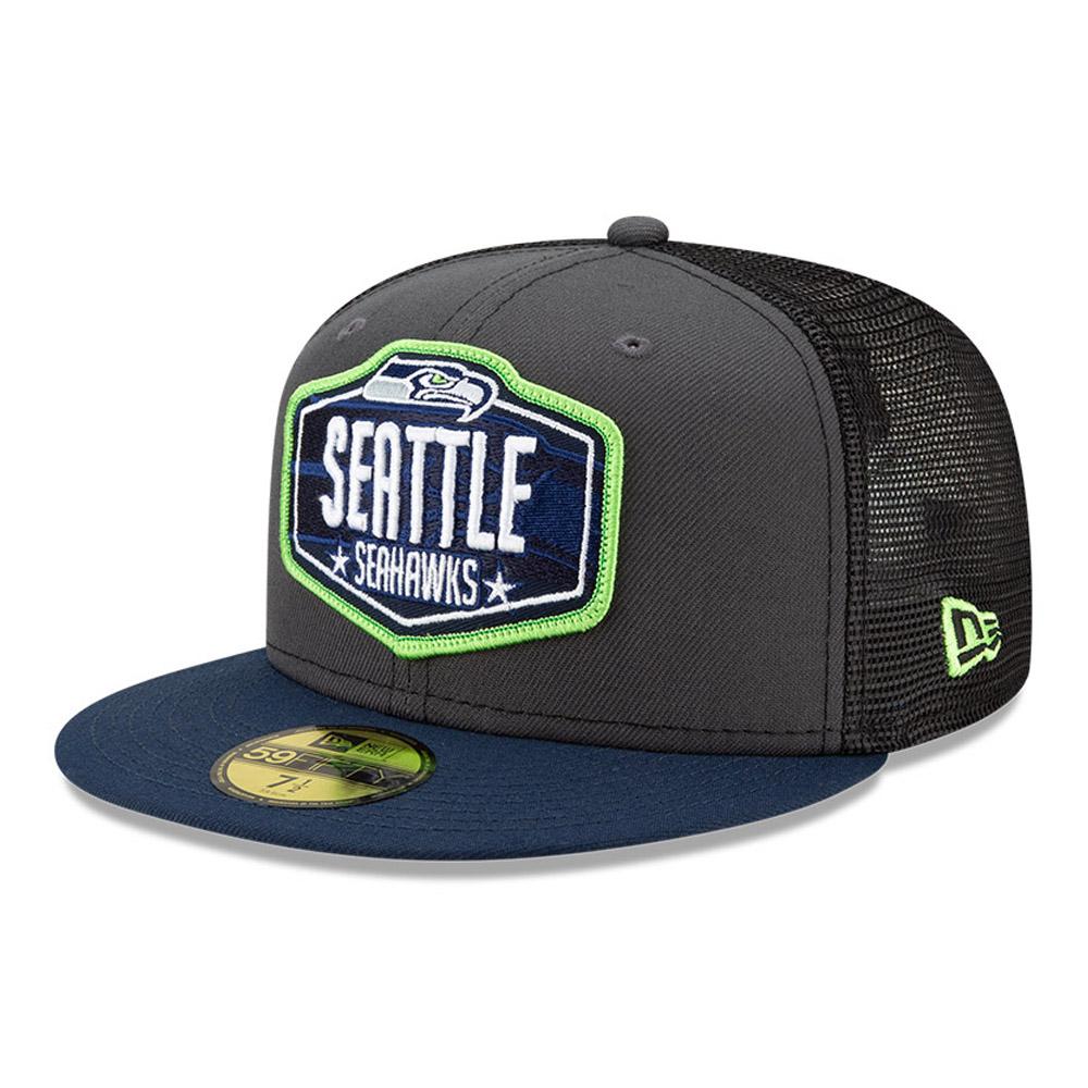 Casquette59FIFTY Seattle SeahawksNFLDraft, gris