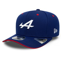 Alpine F1 Team Dash Blue 9FIFTY Stretch Snap Cap