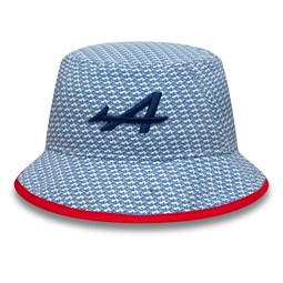 Alpine F1 Race Special Print Bucket Hat