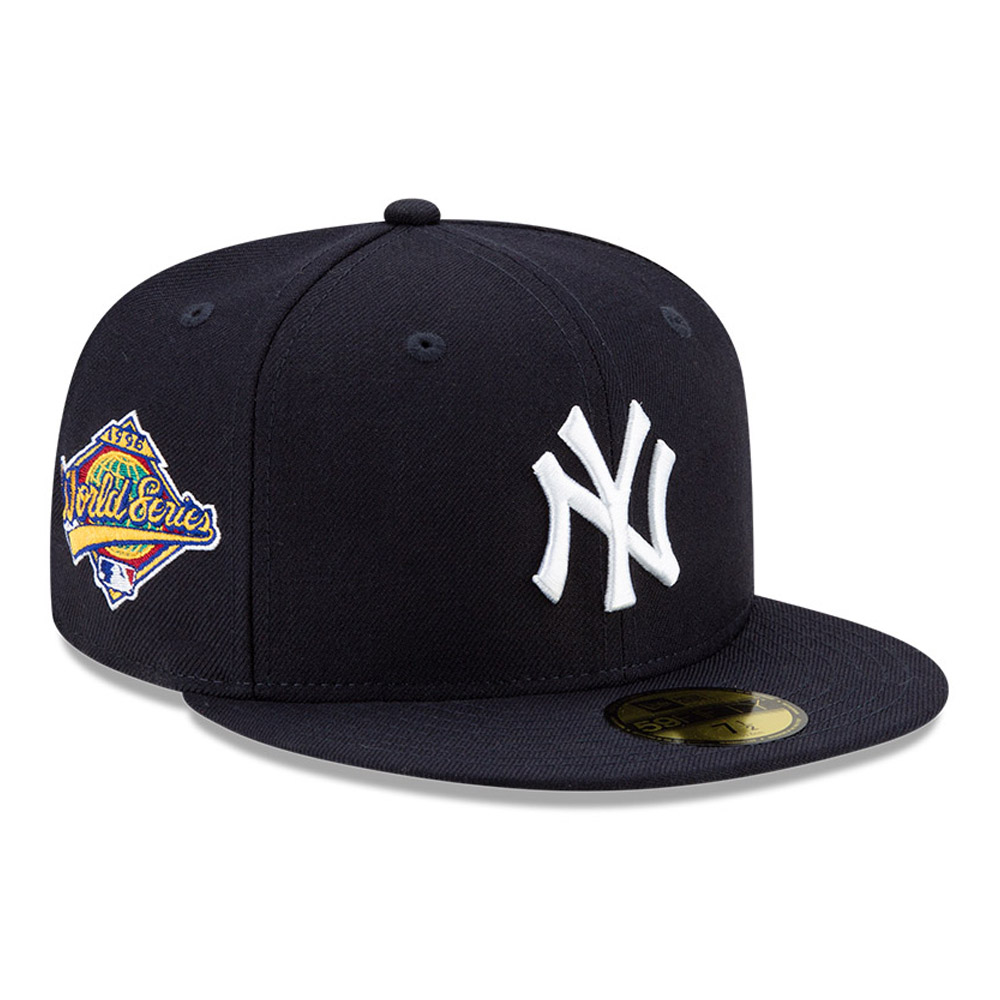 Casquette 59FIFTY MLB World Series New York Yankees, bleu marine