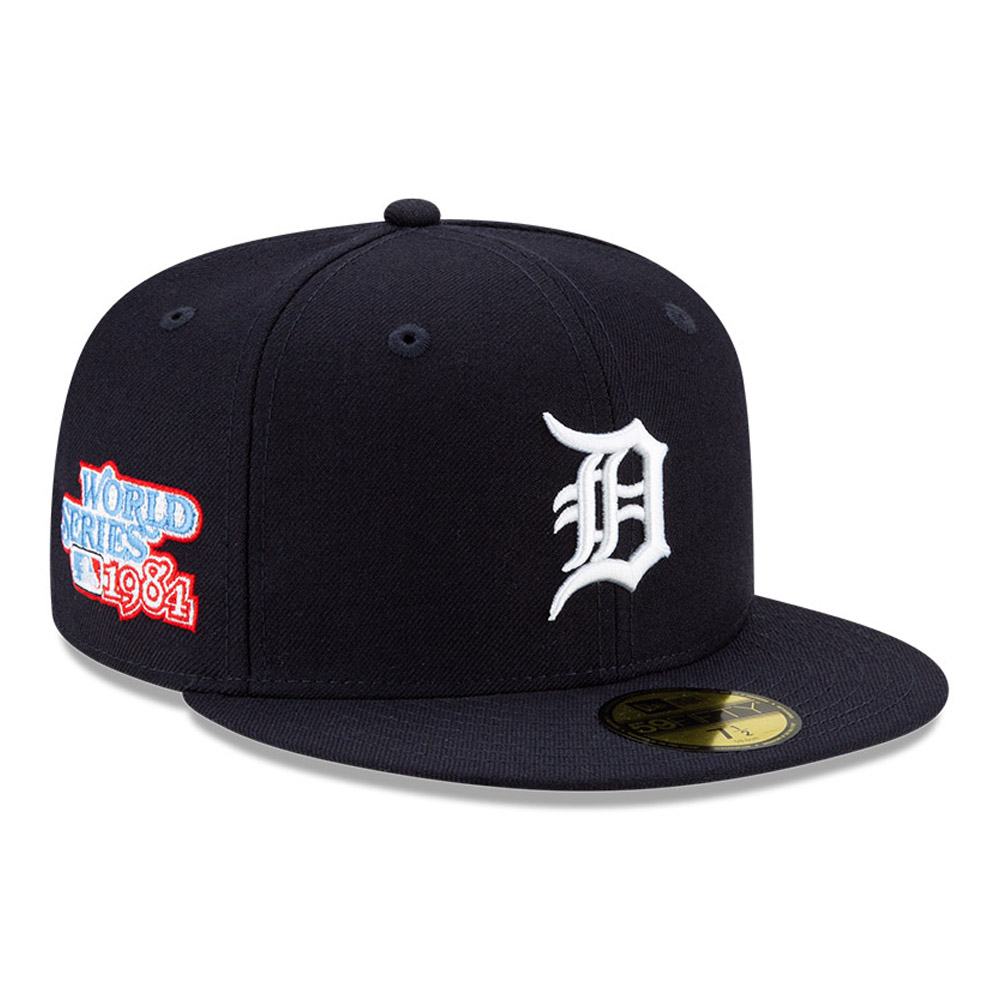 Cappellino 59FIFTY MLB World Series dei Detriot Tigers blu navy