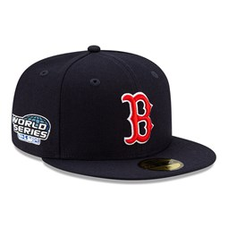 59FIFTY – Boston Red Sox – MLB – World Series – Kappe in Marineblau