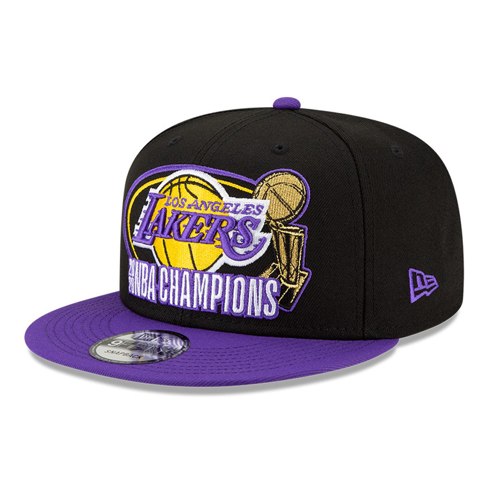 LA Lakers NBA Champs Purple 2020 9FIFTY Cap