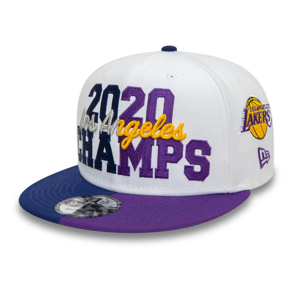 Casquette9FIFTY Co Champs desLA Lakers et LA Dodgers, blanc