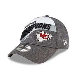 Kansas City Chiefs Conference Champs 2021 Grey 9FORTY Cap