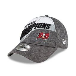 Gorra Tampa Bay Buccaneers Conference Champs 2021 9FORTY, gris
