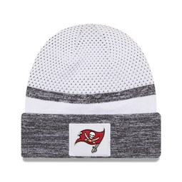 Tampa Bay Buccaneers Super Bowl Sideline White Cuff Knit Hat