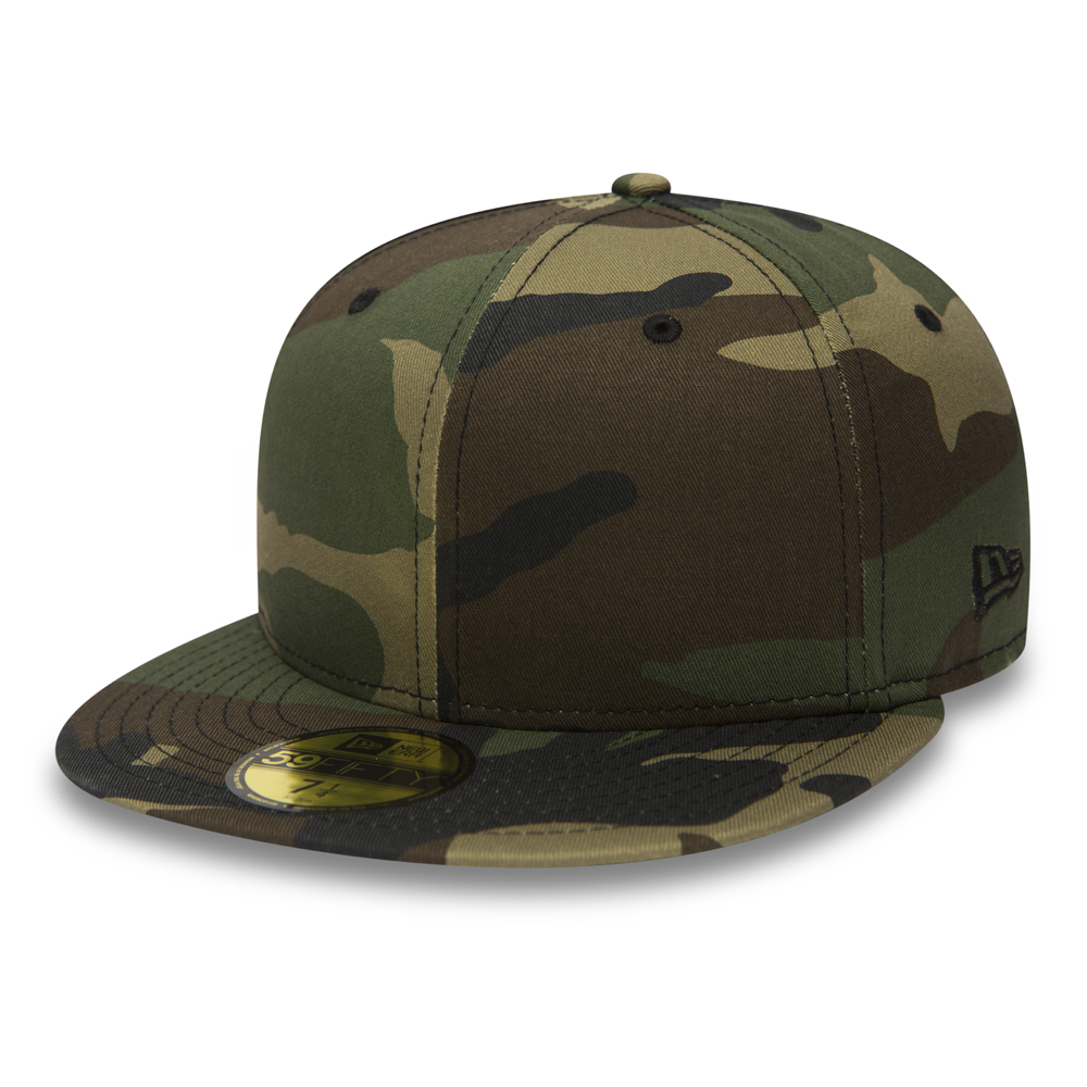 New Era Flag Woodland Camo 59FIFTY
