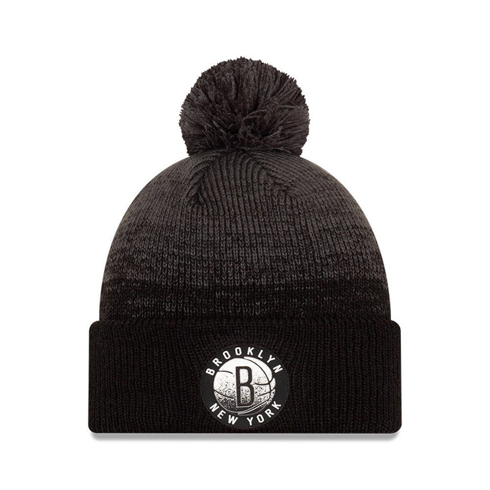 BonnetBrooklyn NetsNBABack Half, noir