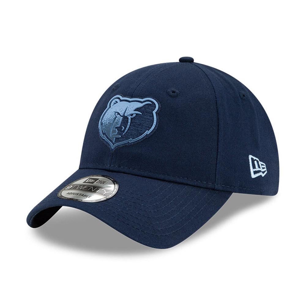 9TWENTY – Memphis Grizzlies – NBA – Back Half – Kappe in Blau