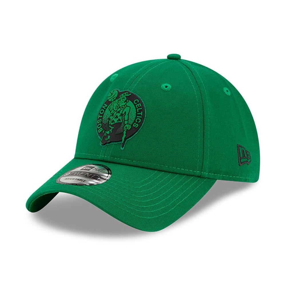 9TWENTY – Boston Celtics – NBA – Back Half – Kappe in Grün