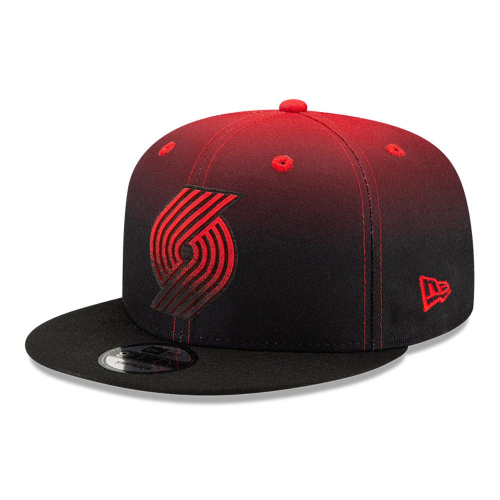 Cappellino 9FIFTY NBA Back Half Portland Trailblazers nero