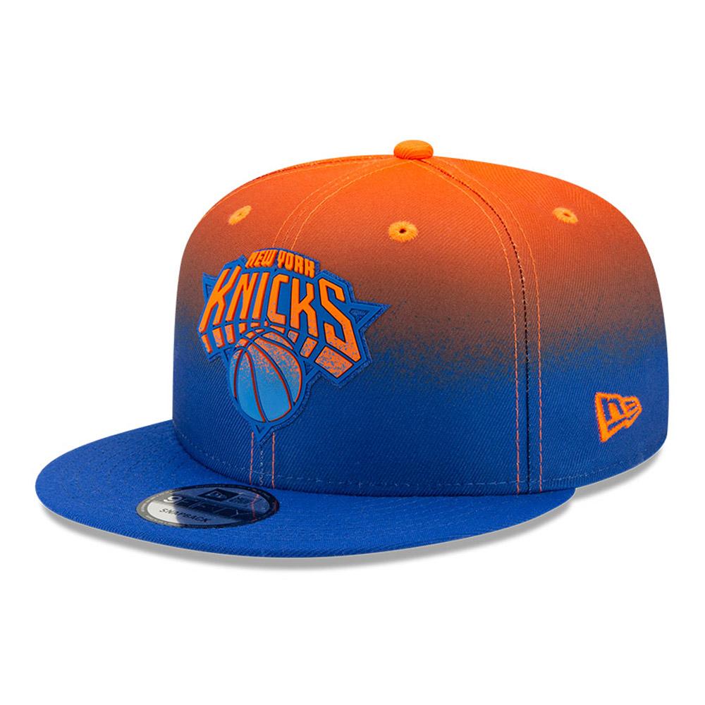 Casquette 9FIFTY NBA Back Half des Knicks de New York, bleue