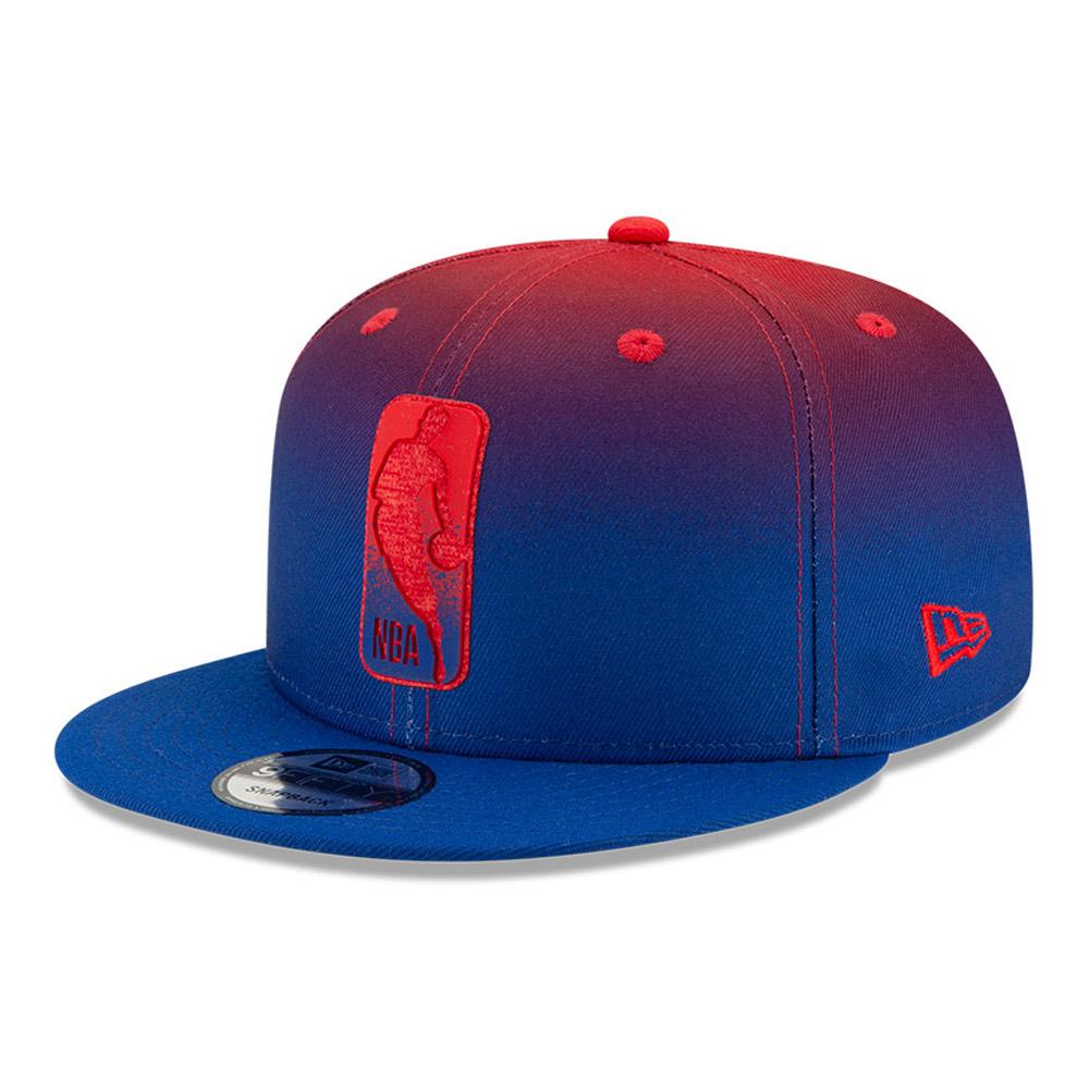 Cappellino 9FIFTY NBA Logo Back Half nero