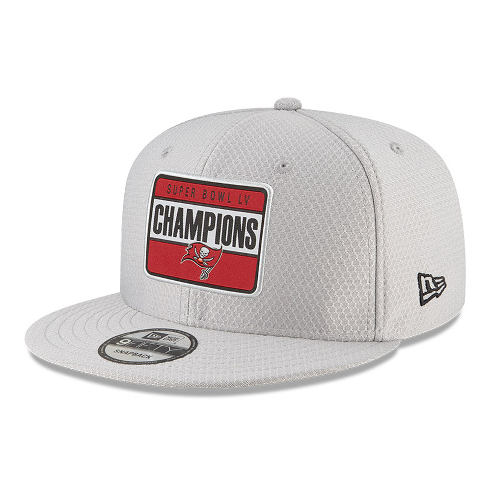 Tampa Bay Buccaneers Super Bowl Parade 2021 Grey 9FIFTY Cap