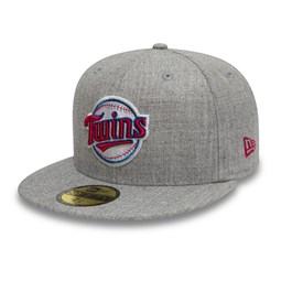 Cappellino 59FIFTY Minnesota Twins Cooperstown grigio