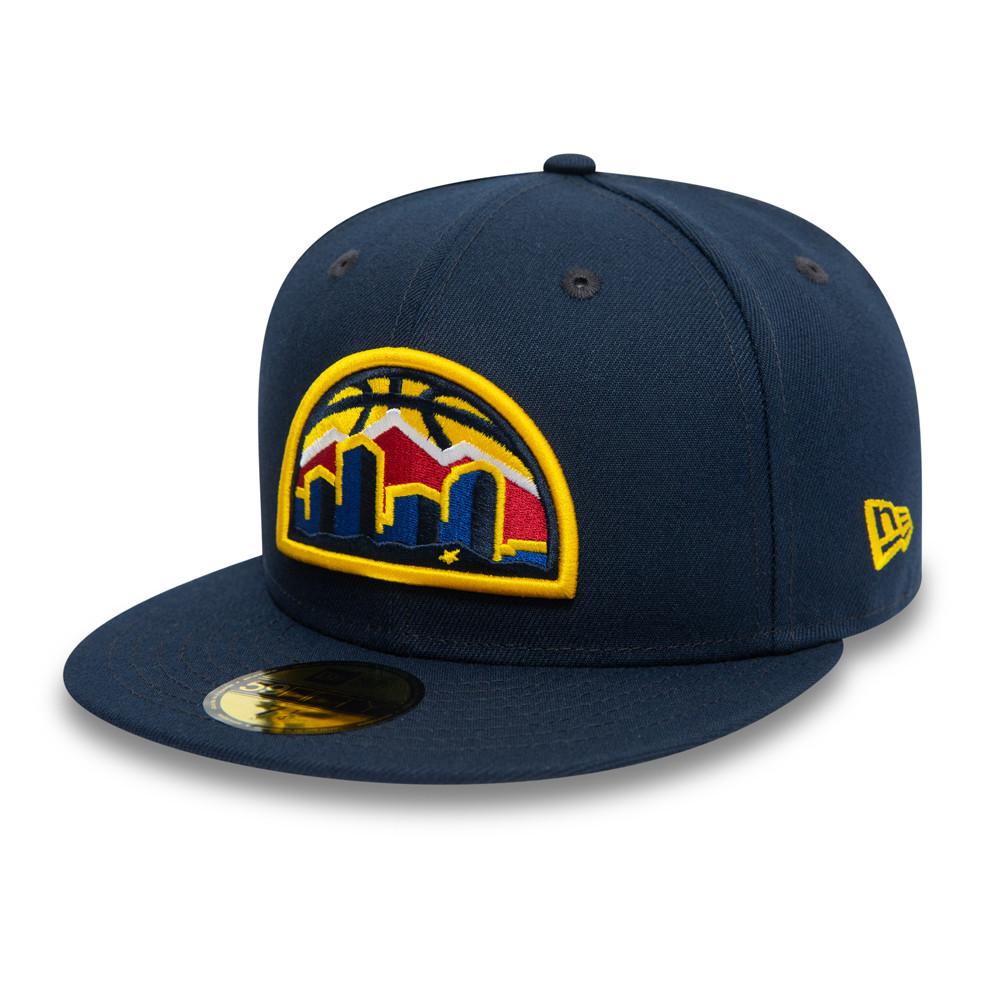 59FIFTY – Denver Nuggets – Skyline – Kappe in Blau