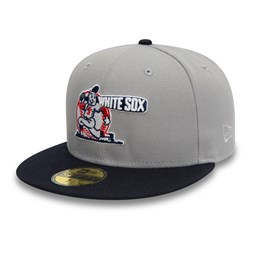 Cappellino 59FIFTY Chicago White Sox Cooperstown grigio