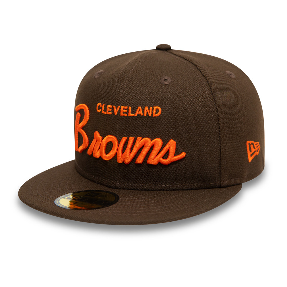59FIFTY – Cleveland Browns – NFL Draft – Kappe in Braun