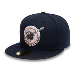 Cappellino 59FIFTY San Diego Padres Cooperstown blu navy