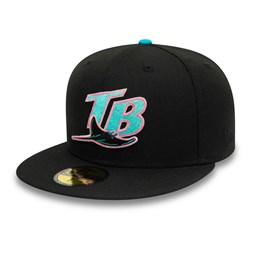 Cappellino 59FIFTY Tampa Bay Rays Cooperstown nero