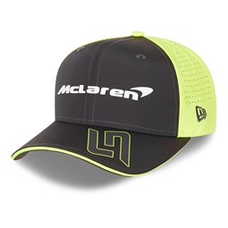 9FIFTY – McLaren – Lando Norris – Stretch-Snap-Kappe in Schwarz