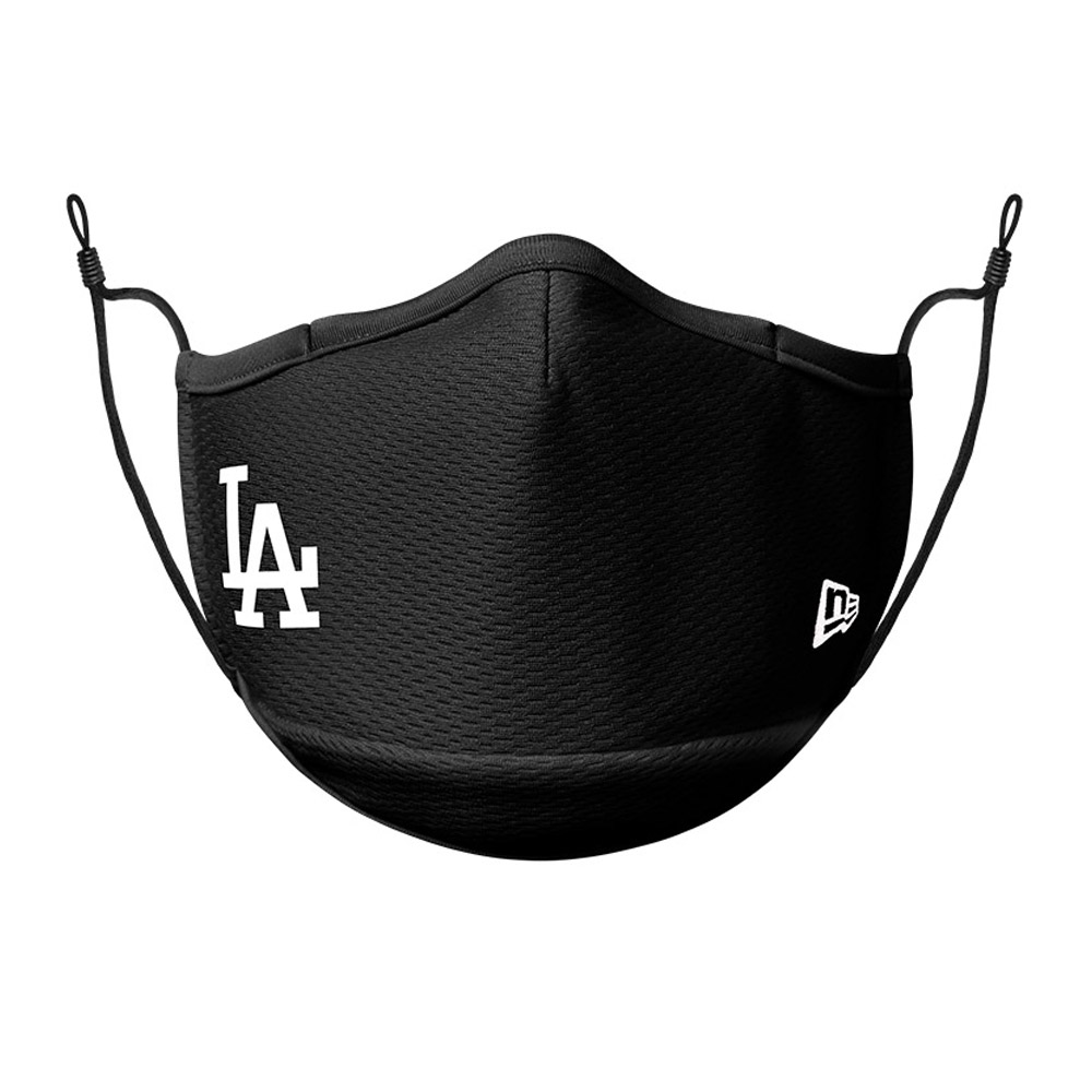 Mascarilla LA Dodgers, negro