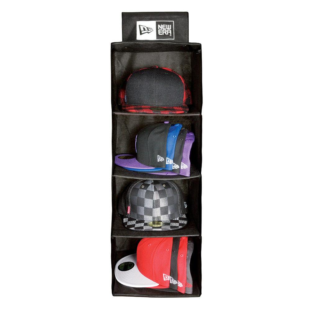 Sistema de almacenamiento para gorras New Era