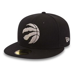 Toronto Raptors Chain Stitch Black 59FIFTY