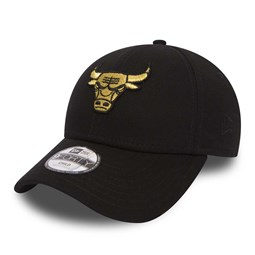 Chicago Bulls Golden 9FORTY noir enfant