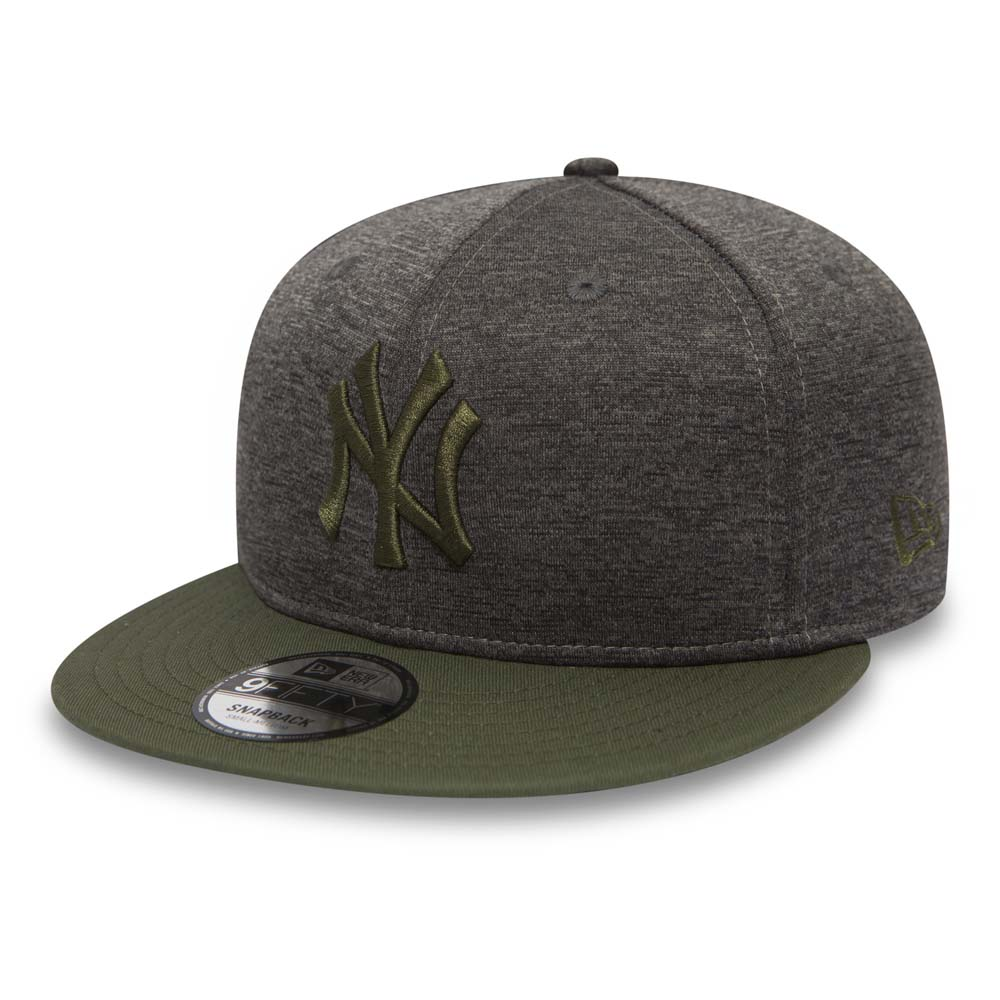 NY Yankees Heather Jersey 9FIFTY Snapback, graphite