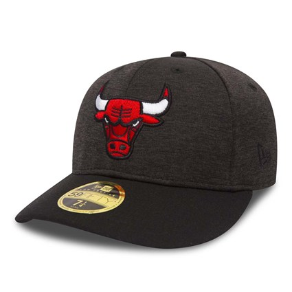 53ed8a9d Chicago Bulls Shadow Tech Graphite Low Profile 59FIFTY | New Era