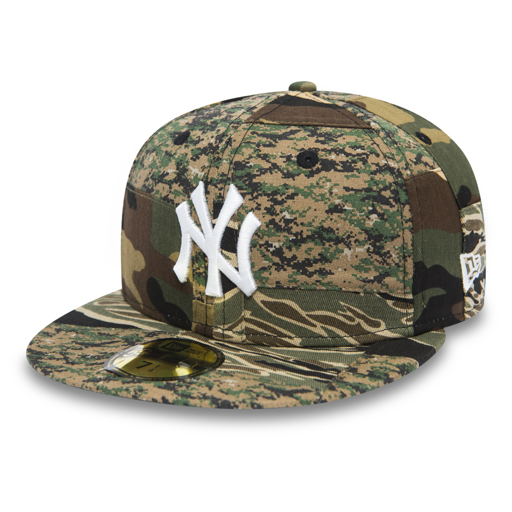 NY Yankees Patchwork Camo 59FIFTY