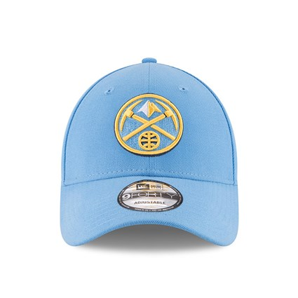 buy popular dd8a6 fcdea ... Denver Nuggets The League Light Blue 9FORTY