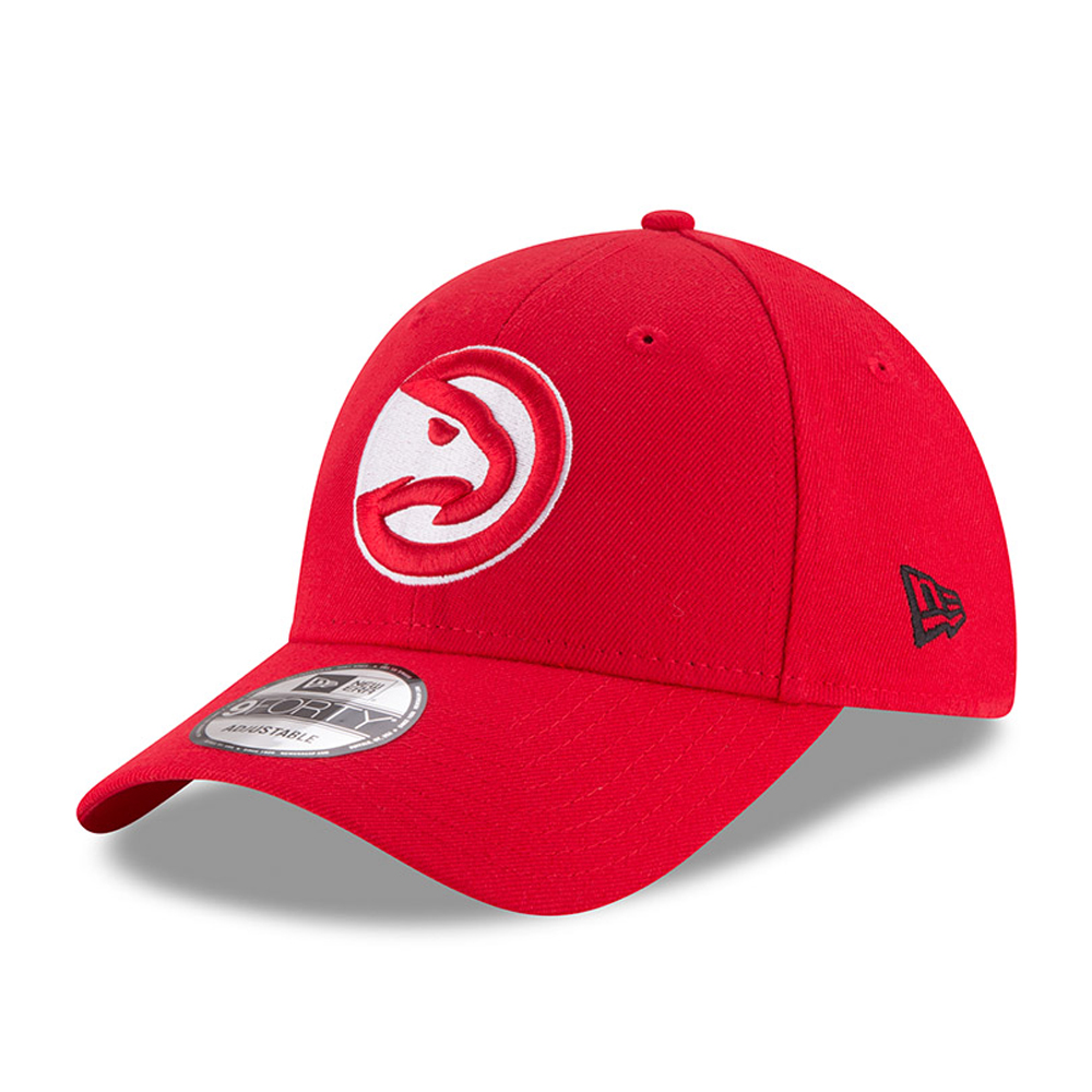 Gorra Atlanta Hawks The League 9FORTY, rojo