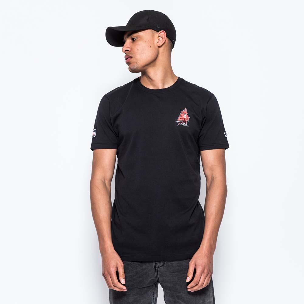 T-shirt Tampa Bay Buccaneers Helmet Logo noir