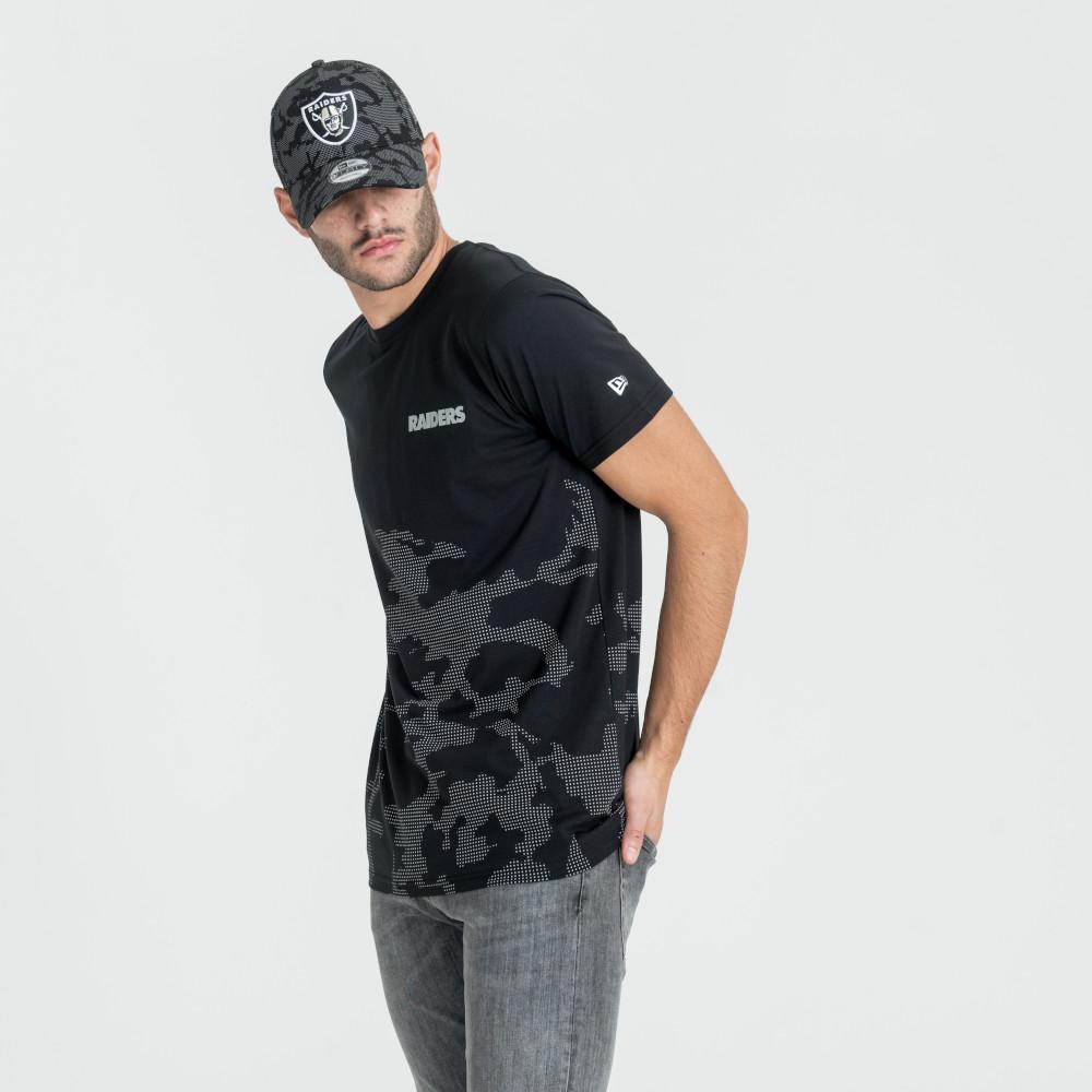 T-shirt Oakland Raiders NTC motif camouflage réfléchissant