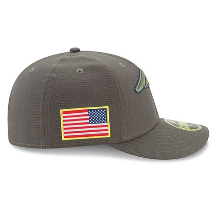 395806c6 New England Patriots Salute To Service Low Profile 59FIFTY   New Era