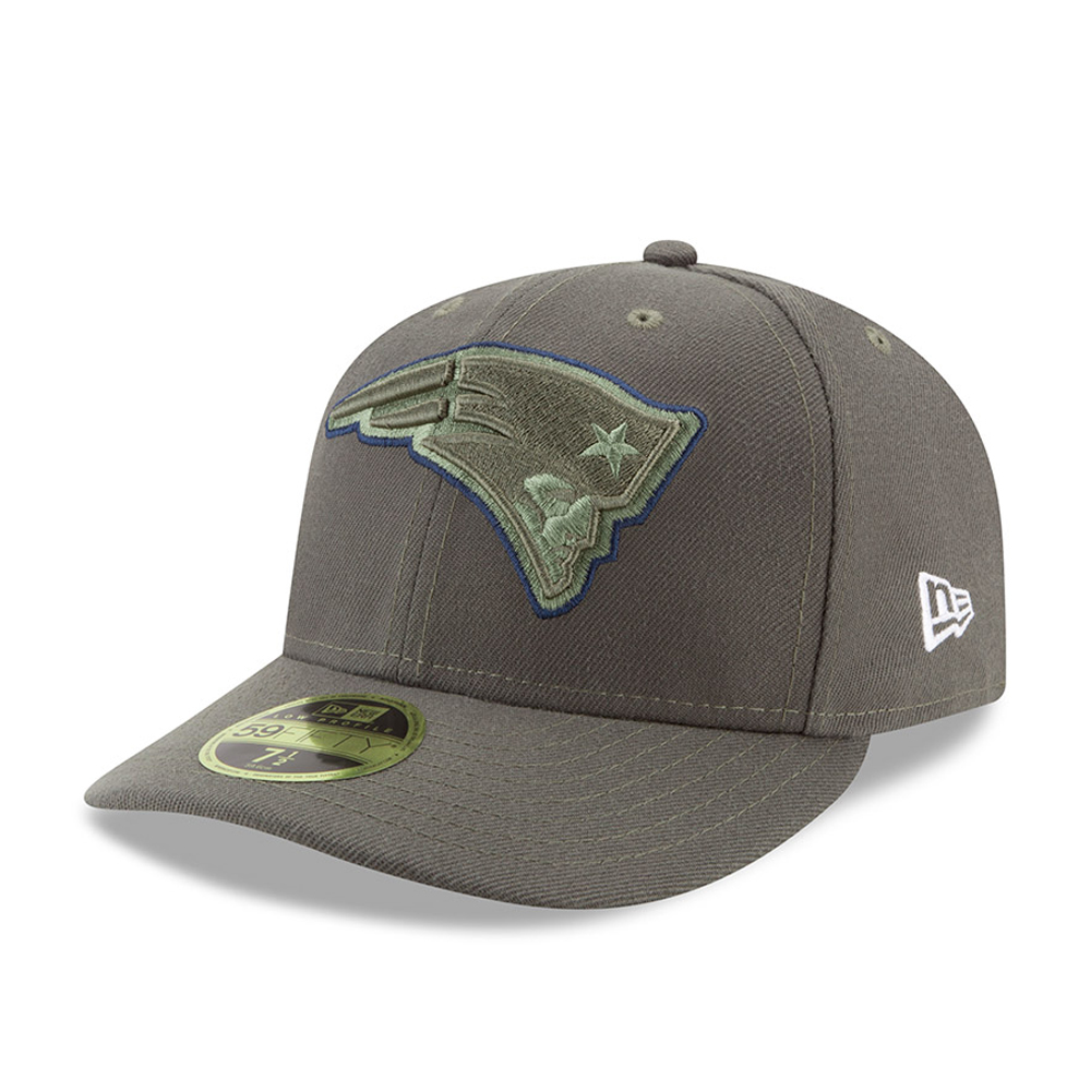 New England Patriots Salute To Service Low Profile 59FIFTY 8c44fcf7695c3