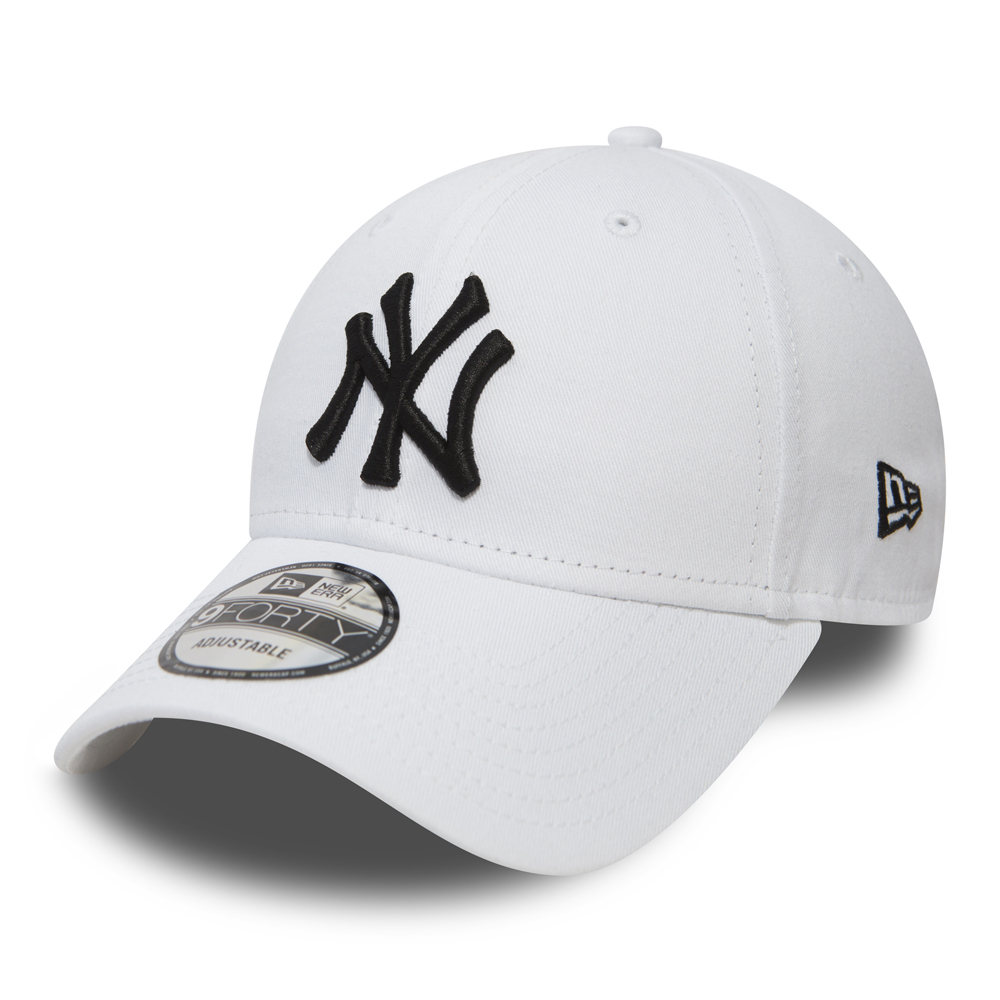 New York Yankees Essential 9FORTY, blanco y negro
