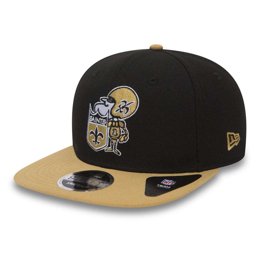 sale retailer 01f17 3baca New Orleans Saints Historic Baycik Original Fit 9FIFTY Snapback   New Era