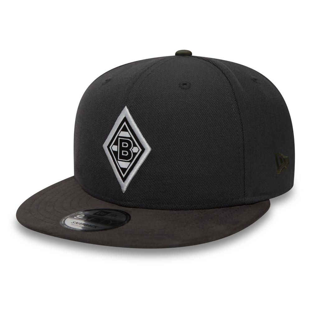 huge discount 275c8 42130 Borussia Monchengladbach Suede Visor Grey 9FIFTY Snapback