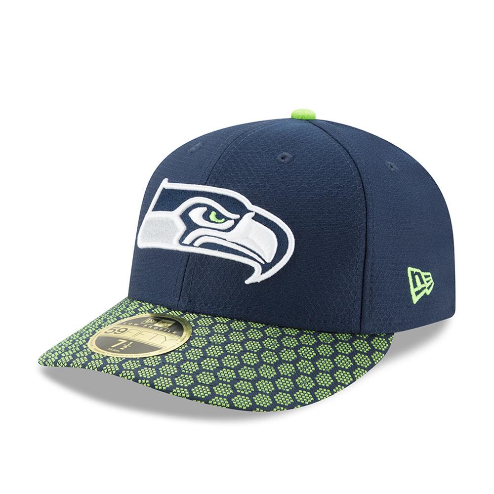 Seattle Seahawks 2017 Sideline Low Profile Navy 59FIFTY