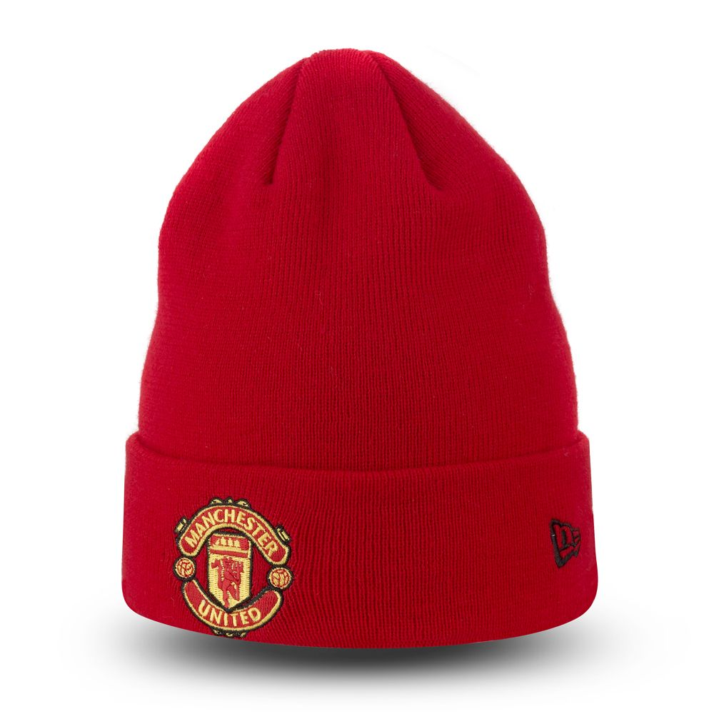 Bonnet à revers Manchester United Essential